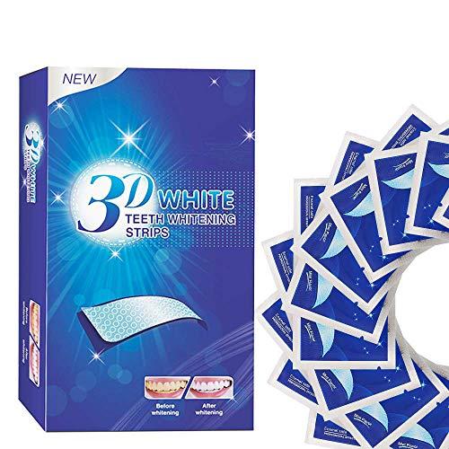 28 blanqueador de dientes tiras