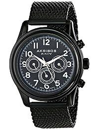 Akribos AK747BK - Reloj para hombres