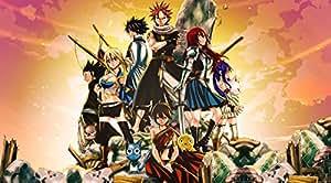 - Fairy Tail Manga Anime 2 SECTIONS XXL! Pas plus d'un mètre de large Poster brillant!!! ****Livraison le jour même!