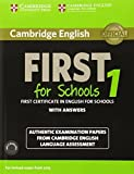 Cambridge English First 1 for Schools for Revised Exam from 2015 Student's Book Pack (Student's Book with Answers and Audio CDs (2)): Authentic ... Language Assessment (FCE Practice Tests) (2014-10-20)