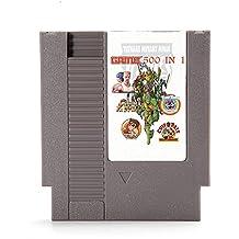Rishil World 500 In 1 Super Game 72 Pin 8 Bit Game Card Cartridge For NES Nintendo