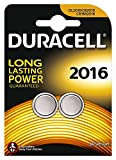 Twin Pack- 2 X Duracell CR2016 3v Lithium Knopfzelle Batterien