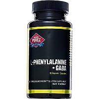 L-fenilalanina + GABA - 500 mg (250 mg de L-fenilalanina, 250 mg de polvo de GABA) - ácido aminobutírico - 90.