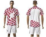 Generic 20162017Kroatien Home Football Jersey in Rot Small rot