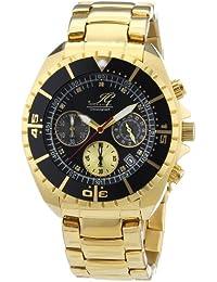 Ingraham Herren-Armbanduhr XL Syracuse Chronograph Quarz Edelstahl beschichtet IG SYRA.1.613273D