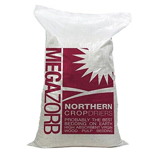 Megazorb 2 x bedding highly absorbent 2 x 85L bags