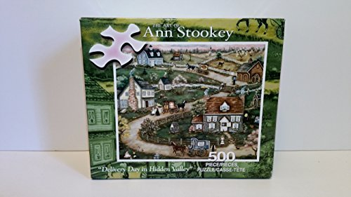 the-art-of-ann-stookey-delivery-day-in-hidden-valley-500-piece-puzzle-by-art-by-ann-stookey