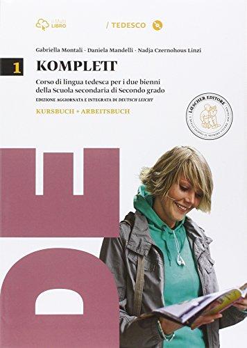 Komplett. Kursbuch-Arbeitsbuch. Per le Scuole superiori. Con CD-ROM. Con e-book. Con espansione online: 1