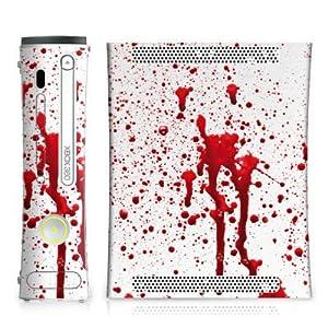 DeinDesign Microsoft Xbox 360 Controller Folie Skin Sticker aus Vinyl-Folie Aufkleber Blood Blut Halloween