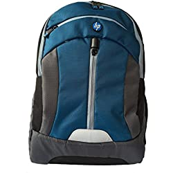 HP Premium HP-W2N96PA 15.6-inch Laptop Backpack (Blue/Grey)