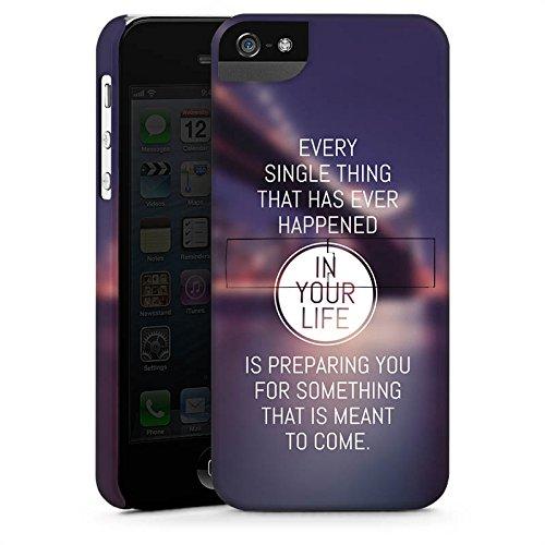 Apple iPhone X Silikon Hülle Case Schutzhülle Weisheit Leben Sprüche Premium Case StandUp