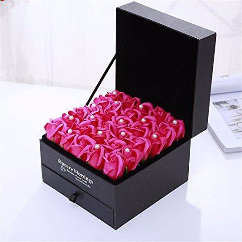 Regali Di Natale Romantici.Regali Di Natale Rose Sapone Romantico Regalo Di Compleanno Box Il Giorno Di San Valentino Dono Gules
