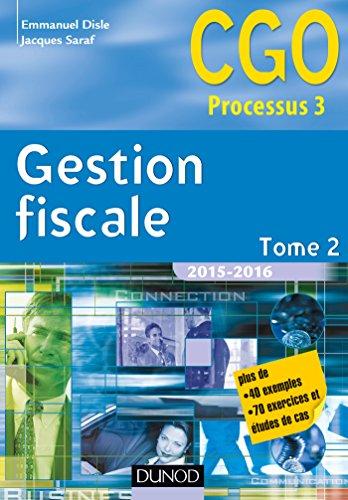 Gestion fiscale 2015-2016 - Tome 2 - 14e d. - Manuel