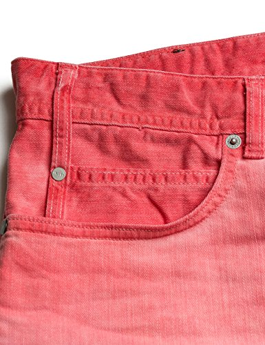 REPLAY Rbj.901 Short, Pantaloncini Uomo Rosso (Coral 20)
