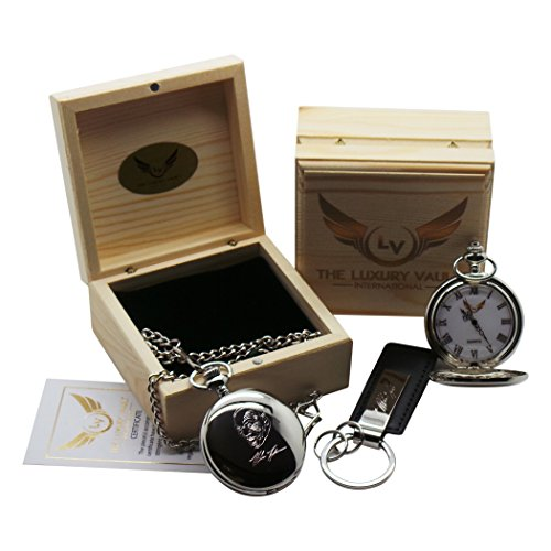 mike-tyson-signed-pocket-watch-silver-plated-with-autograph-keyring-in-wooden-gift-case-collectors-s