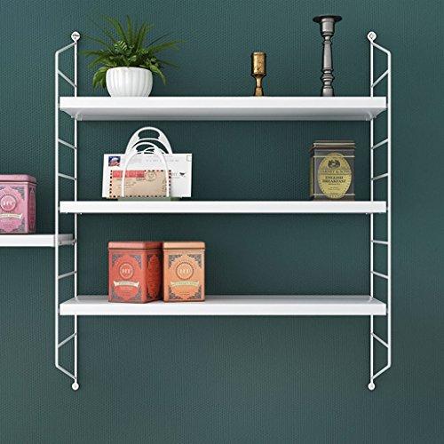 Betty Badezimmer Eckregal Nordisches Schmiedeeisen-Wand-Regal-freies lochendes Schlafzimmer-Wohnzimmer-Wand-modernes minimalistisches Wand hängenden Küchen-Trennwand-Regal