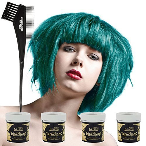 4-x-la-riche-directions-semi-perm-hair-colour-turquoise-all-colours-avail-4x-88ml