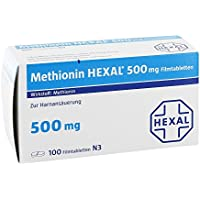 Methionin Hexal 500 mg, 100 St. Tabletten preisvergleich bei billige-tabletten.eu