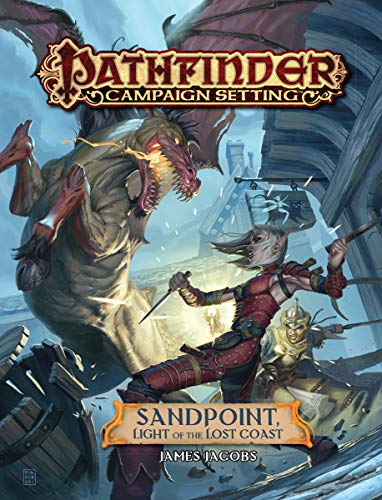 Pathfinder Campaign Setting: Sandpoint, Light of the Lost Coast por James Jacobs