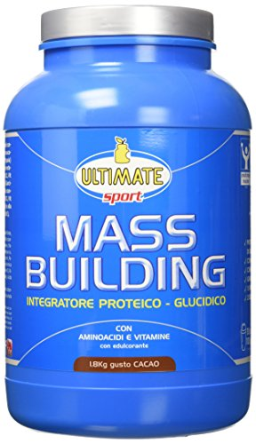 Ultimate Italia Mass B Building Gainer, Cacao - 1800 gr - 51MiBkr6ZyL