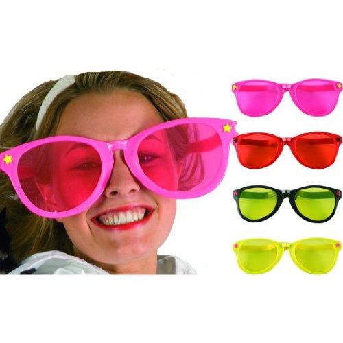 Preisvergleich Produktbild Riesen-Sonnenbrille, , ca. 26 cm, sortiert