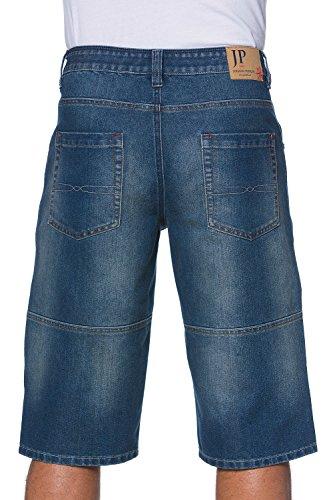 JP 1880 Herren groe Gren Jeans-Bermuda, extra Cargotasche, Regular Fit-For... (Herren Schrittlänge Jeans)
