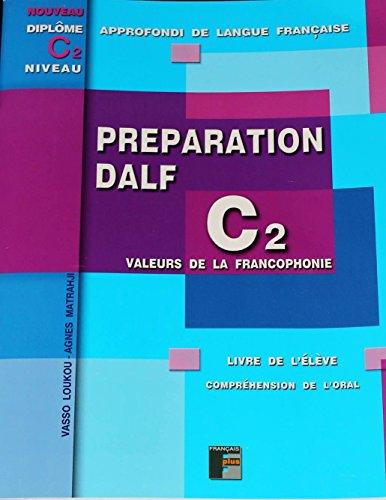DALF C2 Préparation de l'oral: Livre de l'élève - sans corrigés - avec pdf et mp3 par Vasso Loukou
