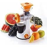 Fruit & Vegetable Juicer | Manual Hand Juicer | Fruit Juicer Stainless Steel Handel Vacuum Base | Orange