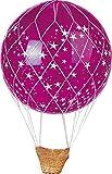 Rete montgolfiere per pallone da 1 m in rafia senza navicella e palla