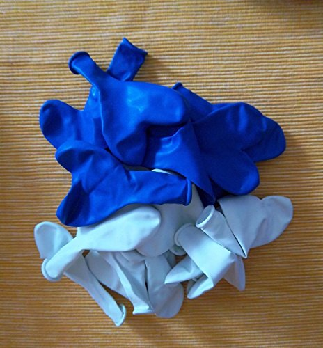 Luft-Ballons Deko-Geschenk-Idee-Schmücken-Oktoberfest- vom Sachsen Versand Helium geeignet ()