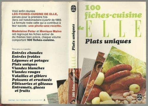 100 fiches cuisine deelle/plats uniques