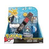 Rocco Giocattoli 'Pokemon Gürtel Clip N Carry Poké Ball sortiert-Pokeball–Rocco Spielzeug T18206