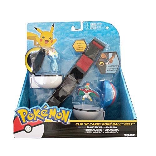 Pokemon CINTURA Clip 'N' Carry Poké Ball MODELLI ASSORTITI Porta Pokeball - Rocco Giocattoli T18206