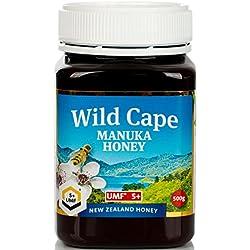 Le miel de Manuka Wild Cape UMF 5+ (MGO 83+) East Cape, 500g
