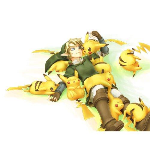 Pikachu-Poster-On-Silk-80cm-x-60cm-32inch-x-24inch-Cartel-de-Seda-380C87