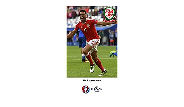 Hal Robson-Kanu Wales Euro 2016 Picture Best Quality Poster Photo