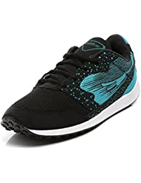 Unistar Black And SeaGreen Sports Shoes -Running Shoes- Walking Shoes - Training Shoes