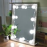 Luci specchio per il trucco di stile Hollywood Regolabile Touch Dresser Lampadina anteriore Cosmetic Vanity Kit Lampadine per toilette da toeletta Illuminazione
