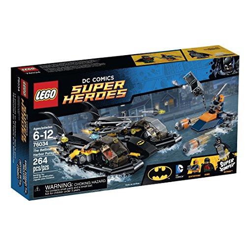 Preisvergleich Produktbild LEGO Super Heroes 76034 the Batboat Harbor Pursuit Building Kit by LEGO