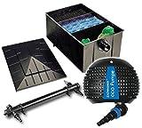 Teichfilteranlage XXL Teichfilter 330 L + Teichpumpe Z8000 + UVC 72 Watt Teichfilter