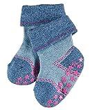 FALKE Baby-Unisex Socken Denim Catspads, Blau (Taubenblau 6213), 80 (Herstellergröße: 80-92)