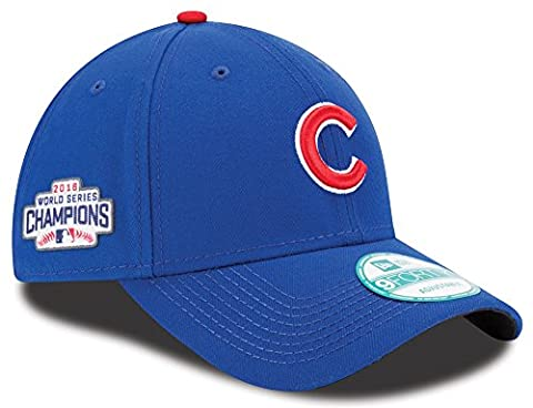 Chicago Cubs New Era MLB 9Forty 2016 World Series Champions Adjustable Hat