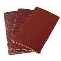 Calli 10Pcs 135 x 68mm Rectangular Mixed Grit Sander Sandpaper