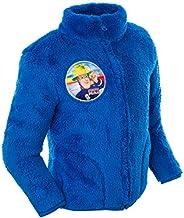 Brandsseller Chaqueta de forro polar para niños, diseño de Sam Fireman con cuello alto