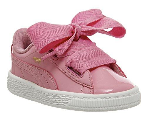 Puma Basket Heart Patent Sneaker Kleinkinder 4.0 UK - 20.0 EU (Puma Kleinkind Schuhe)