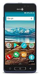 Doro 8035 Smartphone (12,7 cm (5 Zoll) Display, 5MP Kamera, 16GB Speicher) dunkelblau