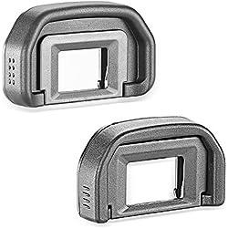 Neewer® 2Oculaire œilleton Eye Tasse (Canon EB) de Remplacement pour Canon EOS 5D Mark II/5D/6D/70D/60D/60Da/50D/40D
