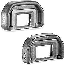 Neewer® 2-Pack ocular Eyecup Eye Cup (Canon EB de repuesto) para Canon EOS 5d mark ii/5d/6d/70d/60d/60DA/50d/40d