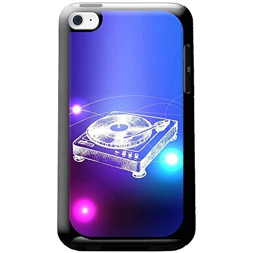 Lineart DJ-Decks Turntables Hartschalenhülle Telefonhülle zum Aufstecken für Apple iPod Touch 4th Generation