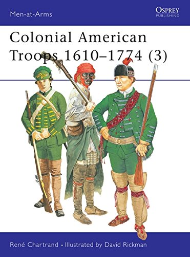 Colonial American Troops 1610-1774 (3) (Men-at-Arms, Band 383) - Wars American Indian